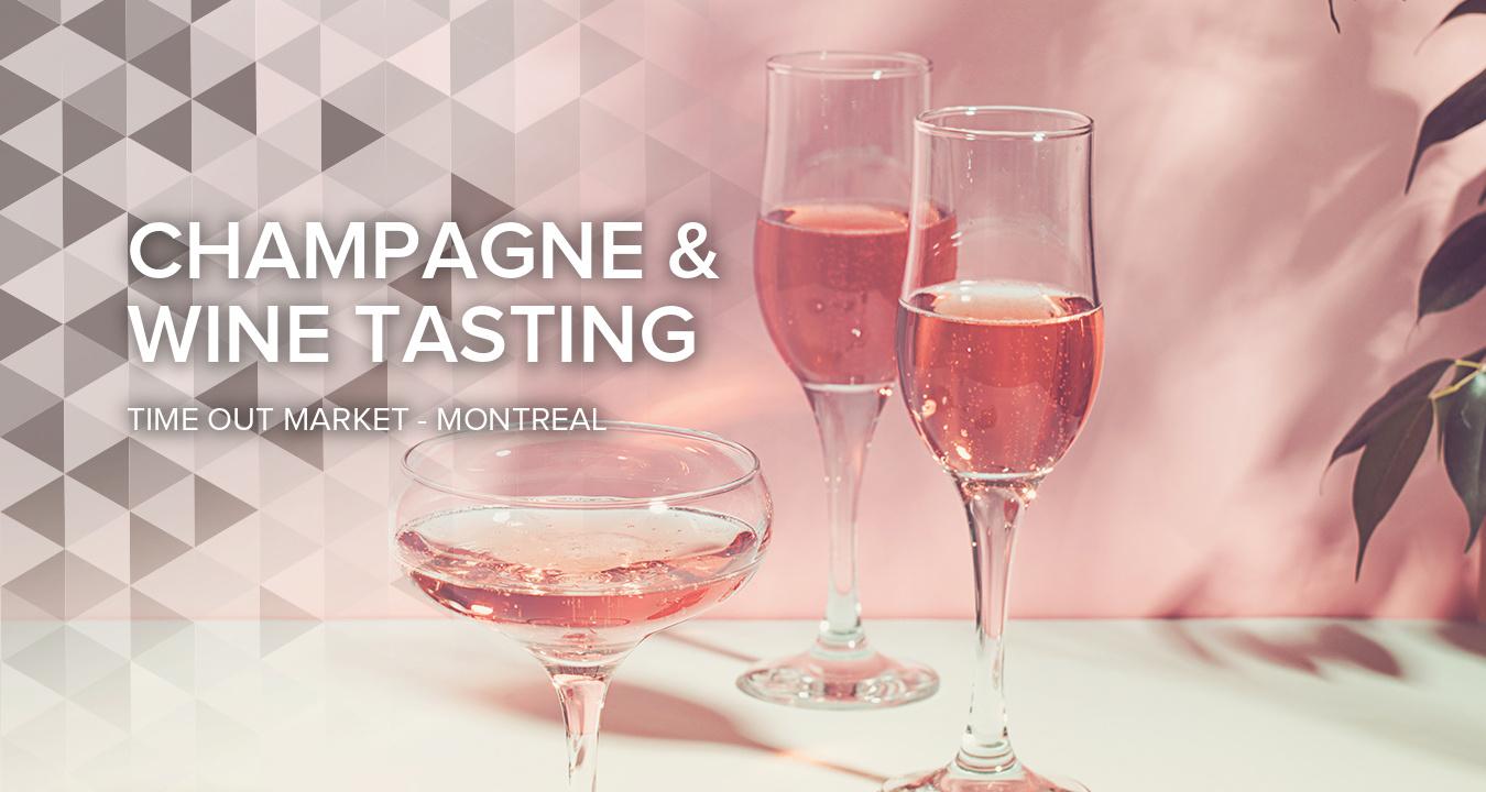 Champagne and Wine Tasting