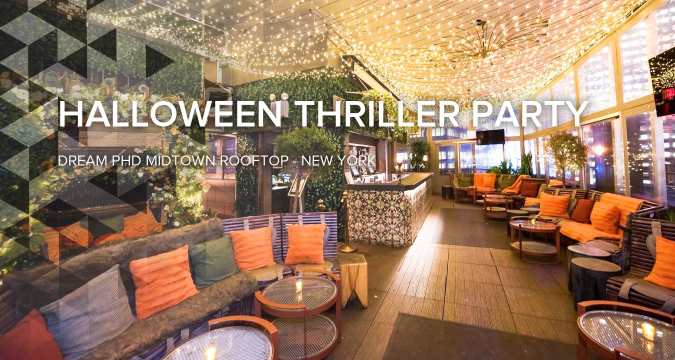 Halloween Thriller Party