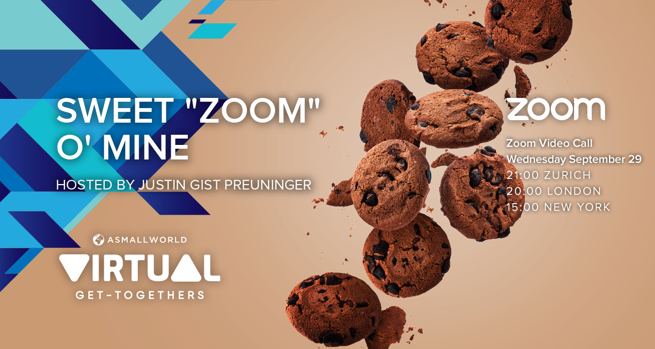 "Virtual Get-Together: Sweet ""Zoom"" O' Mine"